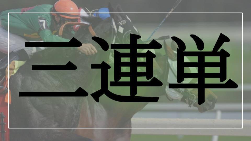三連単のロゴ画像(馬券の種類)