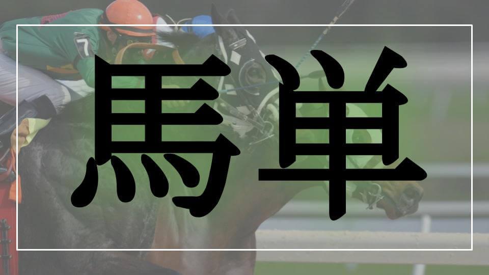 馬単のロゴ画像(馬券の種類)