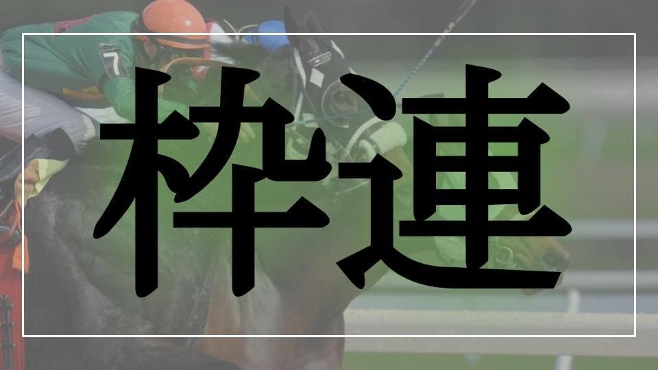 枠連のロゴ画像(馬券の種類)