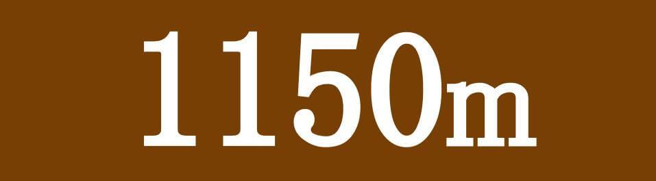 各競馬場 ダート1150mのコース特徴へのリンク画像