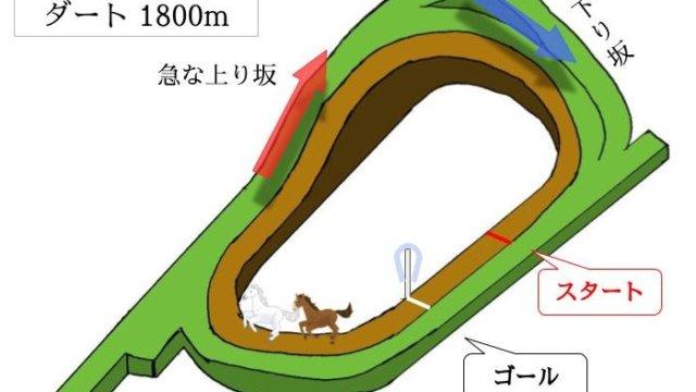 京都競馬場 ダート1800mのコースで特徴を解説