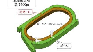 札幌競馬場 芝2600mのコースで特徴を解説