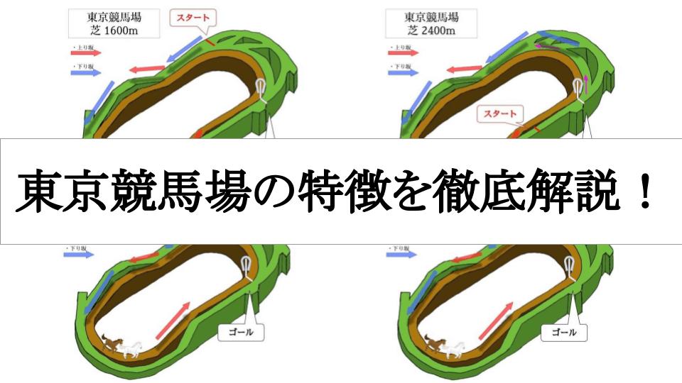 東京競馬場の特徴を徹底解説!